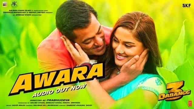 Awara Song Lyrics