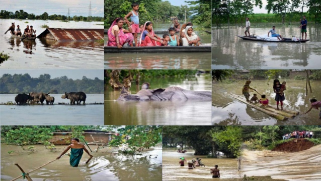 2020- Assam Flood : Story of ignorance of Northeast India