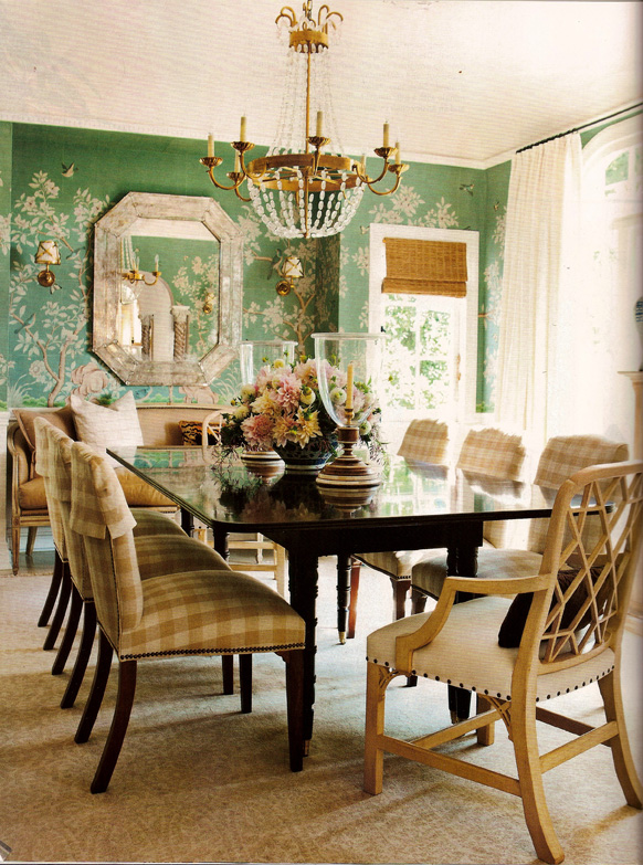 house beautiful dining rooms | South of the Sahara: House Beautiful has Done It Again