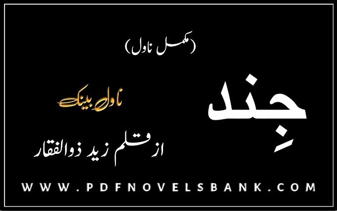 Jind by Zaid Zulfiqar Complete Novel