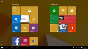 Memperbaiki Tampilan Start Menu Windows 10 yang Tegak
