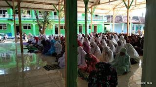 Sholat Duha SMA Darusy Syafa'ah