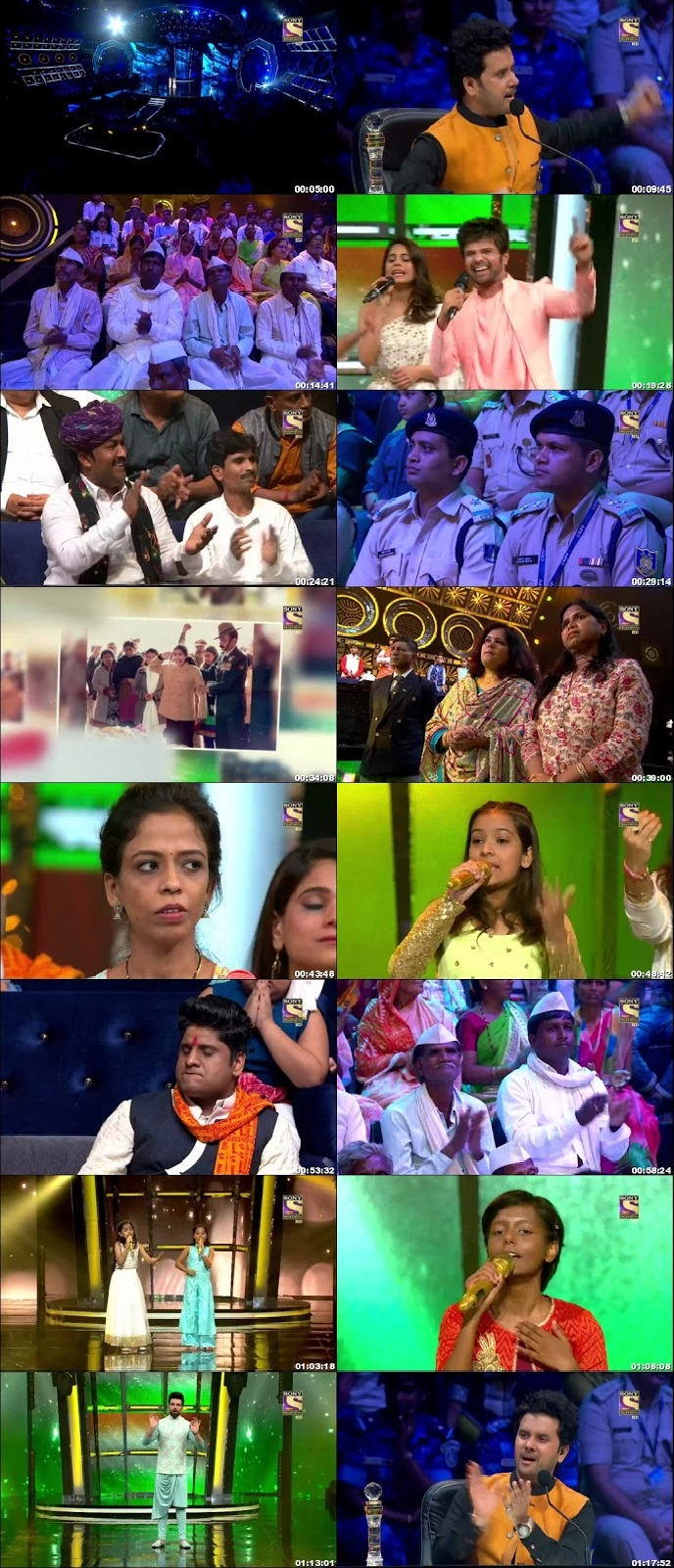 Screenshots Of Hindi Show Superstar Singer 10th August 2019 Episode 13 300MB 480P HD