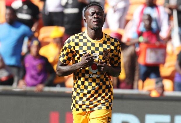 Kaizer Chiefs midfielder James Kotei