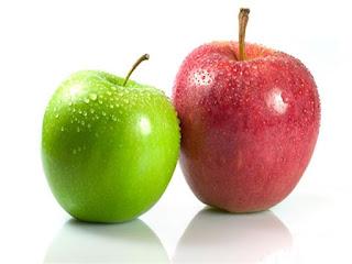 معنى تقطيع التفاح في الحلم