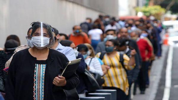 México supera los 480.000 contagios por coronavirus