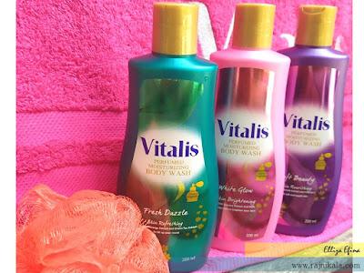 mandi mewah dengan vitalis