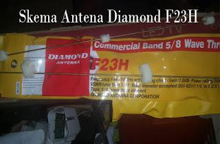 Skema Antena Diamond F23H