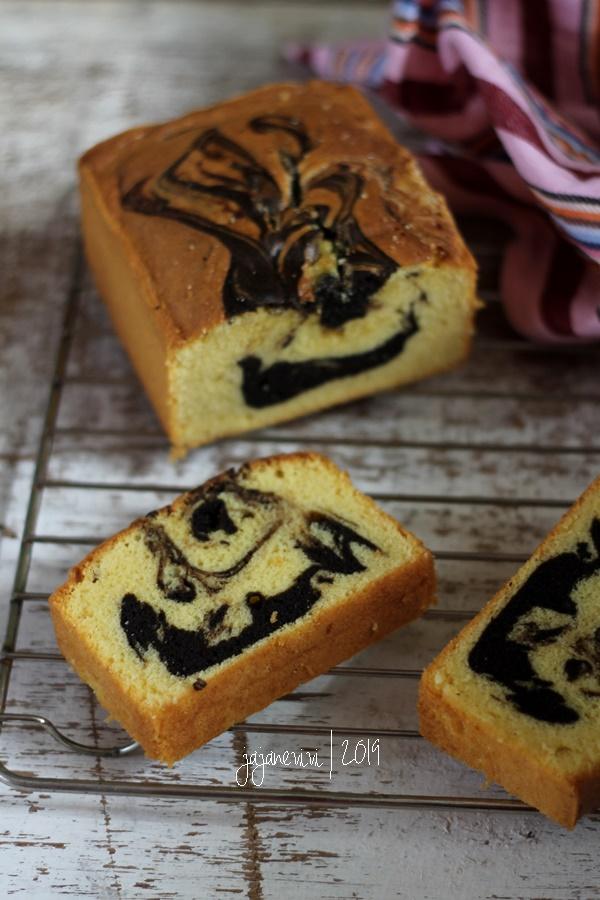 Marmer Cake Anti Gagal Dengan Butter Cake Methode Jajane Vivi