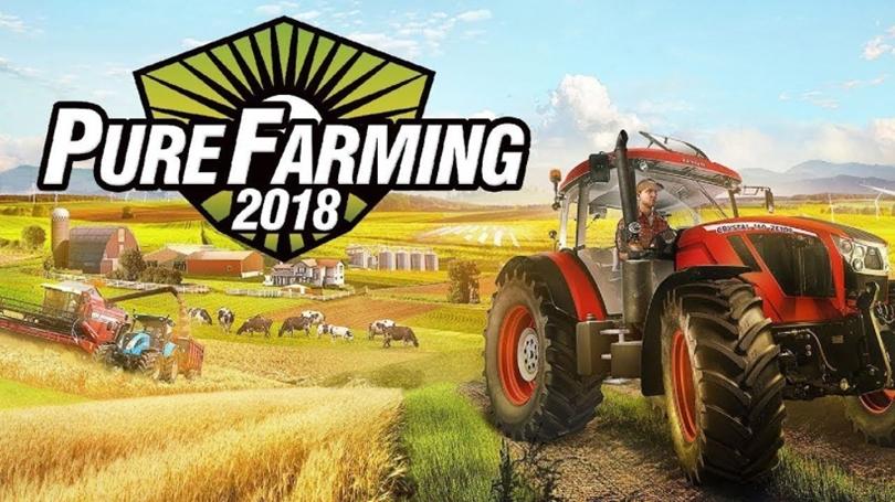 Pure Farming 2018 (Tarım Simülasyonu)