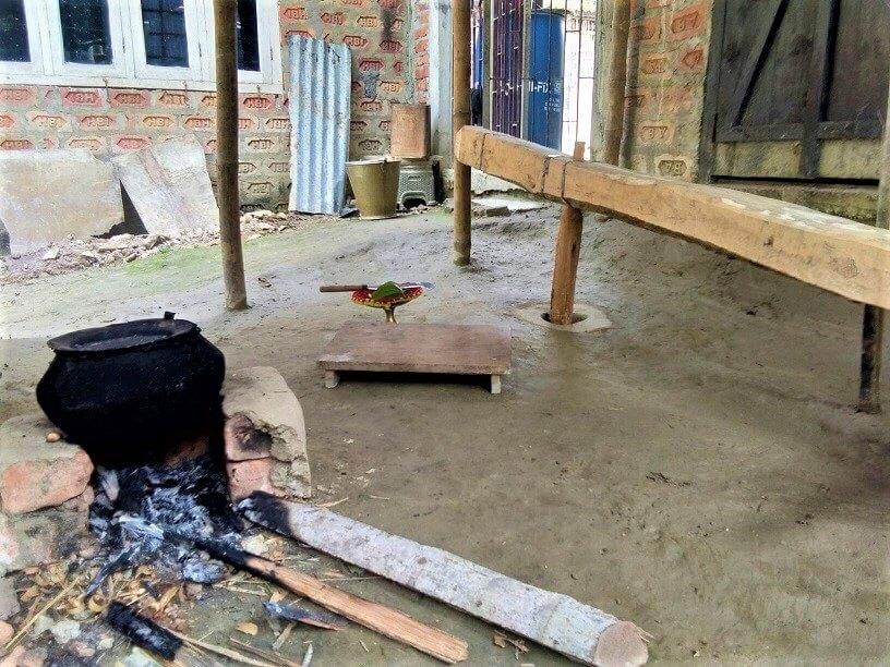 village life of assam, gaoliya poribekh