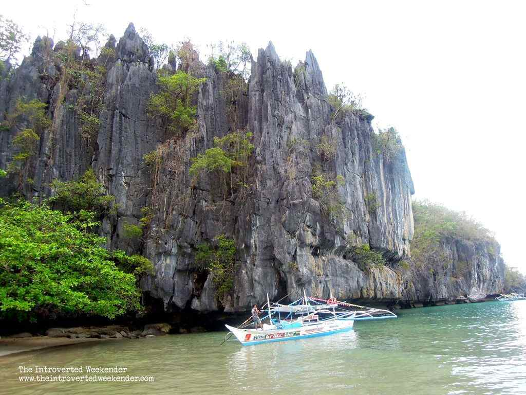 The beach at the Puerto Princesa Subterranean River National Park