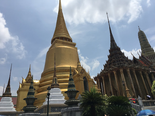 Temple of Emerald Buddha and the Golden Stupa