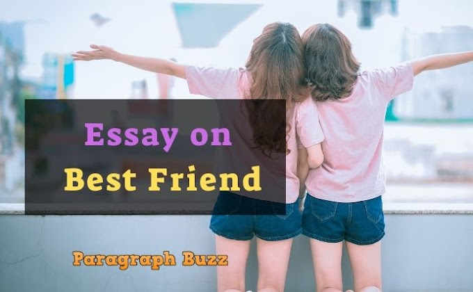 Essay on My Best Friend in English for Students