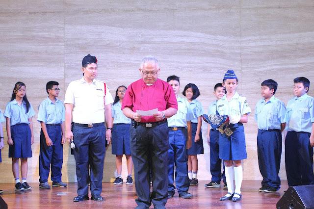 SMP Kristen Kalam Kudus Gelar Kebaktian Awal Tahun Ajaran 2019/2020