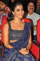 Pooja Hegde choli saree at DJ Duvvada Jaggannadham music launch ~  Exclusive 24.jpg