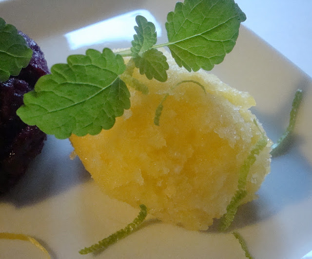 Himmelske kager: Blåbær-Citron sorbet og Mango-Lime sorbet