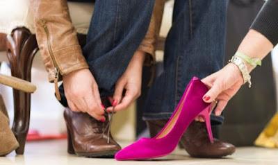14 Tips Dan Cara Memilih Sepatu Untuk Wanita