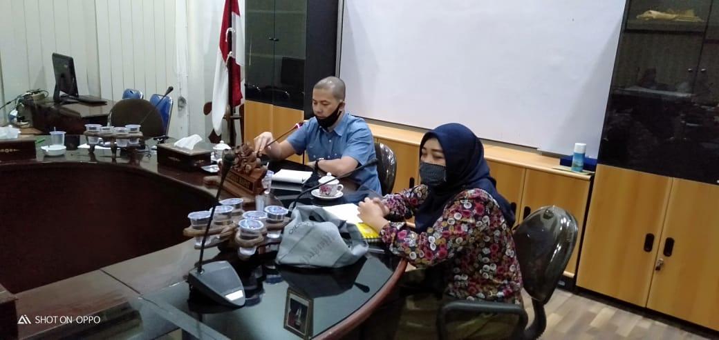 DPRD Metro Hearing dengan Dinsos Bahas Program Bantuan APBD dan APBN