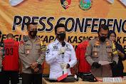 Satreskrim Polres Cilegon Berhasil amankan 2 Pelaku dan 4 Penadah Pencurian Mobil Colt diesel