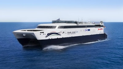 Bay Ferries' Cat to Operate Between Yarmouth, NS and Portland, ME