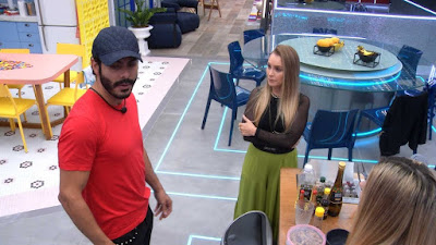 Rodolffo desabafa sobre sister – Carla Diaz fala a Rodolffo sobre jogo de Arthur – Lumena fala para Gilberto sobre conversa com Juliette
