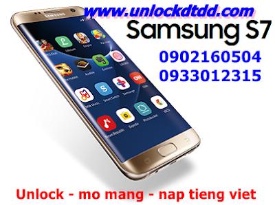 Rat hai long voi dich vu unlock mo mang samsung galaxy s7 xach tay tai 92 Thai ha