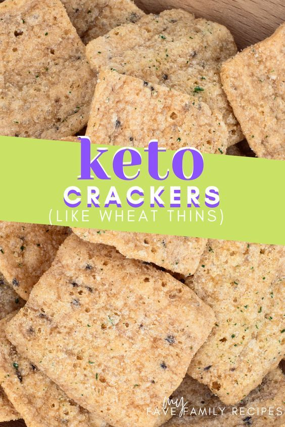 Keto Low Carb Crackers Like Wheat Whins