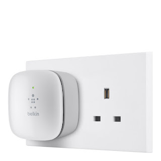 GOOD PRICE, HIGH RATE QUALITY Belkin N300 Universal Wi-Fi Range Extender, now £14.99