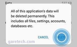 membersihkan berkas campah cache tanpa aplikasi