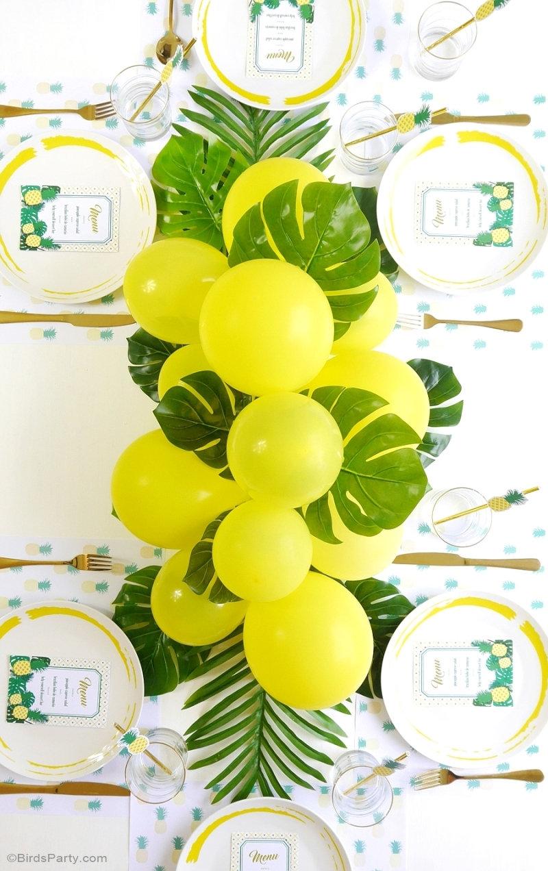 DIY Guirlande de Ballons - un projet facile à réaliser pour décorer fêtes, anniversaires, mariages, photo booths ou toute autre célébration! by BirdsParty.com @birdsparty #ballons #gurilandeballons #diy #diyguirlandeballons #diyarchballons #decorationballons #decorationanniversaire