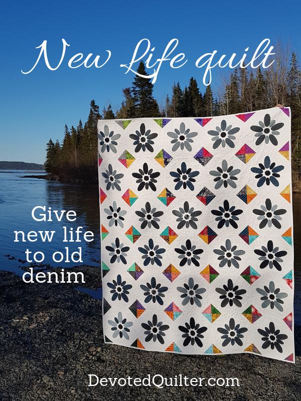New Life quilt | DevotedQuilter.com