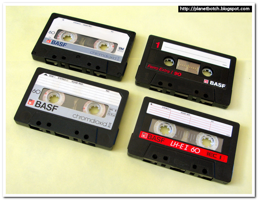 BASF audio cassette tapes 1980s