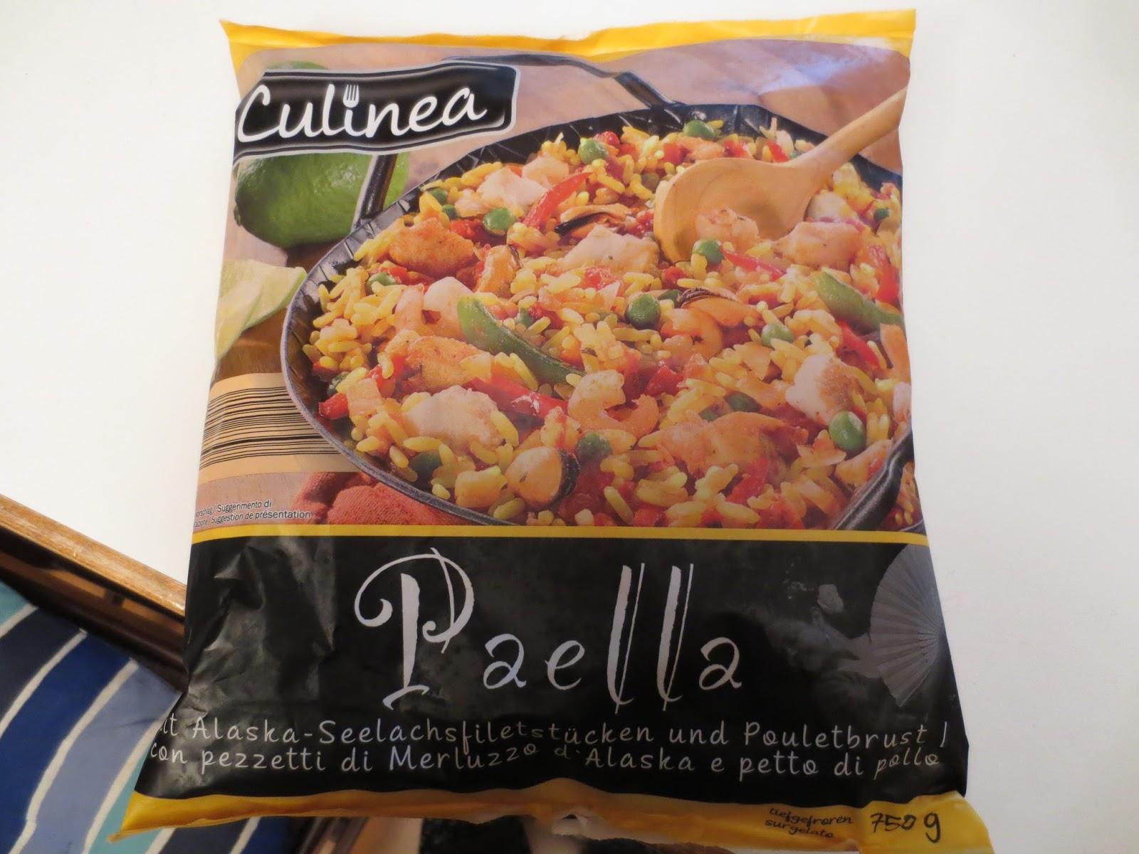 natural passion & other creations: paella del lidl - Come Si Cucina La Paella Surgelata