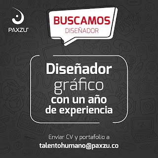 Oferta de Trabajo en Bogota como  Diseñador Grafico