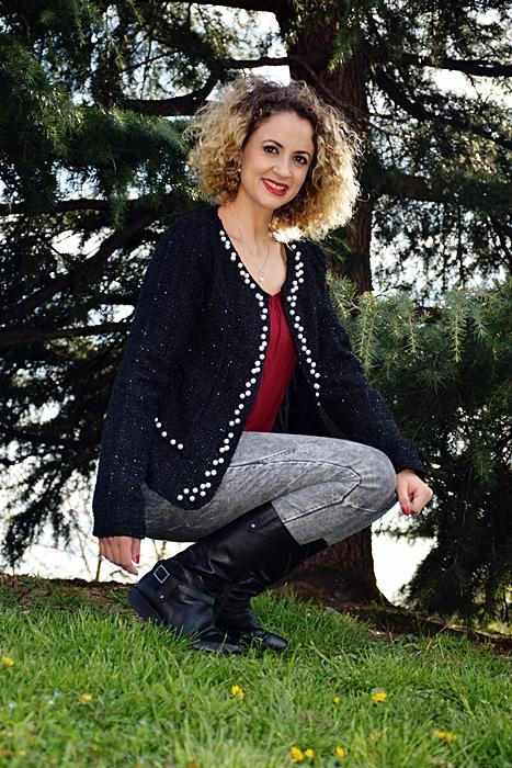 Outfit-Americana-Tweed-con-perlas-4
