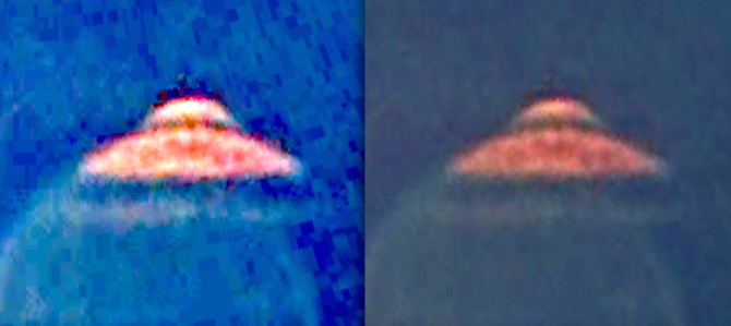 UFO Spotted On Google Earth With Alien Head Sticking Out