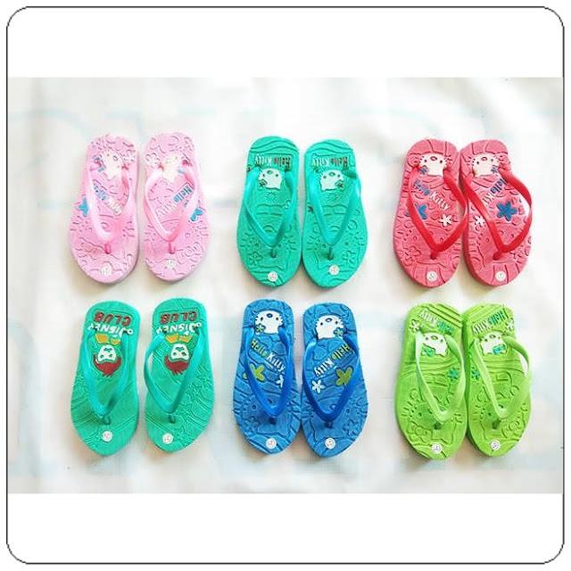 Sandal Hellokity Press Baby AB   (21-25) Pusatnya Sandal Spon