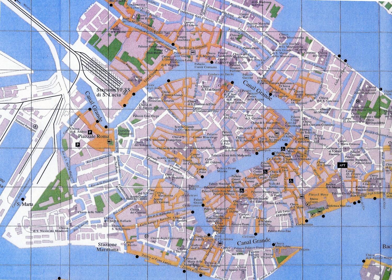 velence látnivalók térkép Velence Direct Connection: Olaszország Velence térkép velence látnivalók térkép