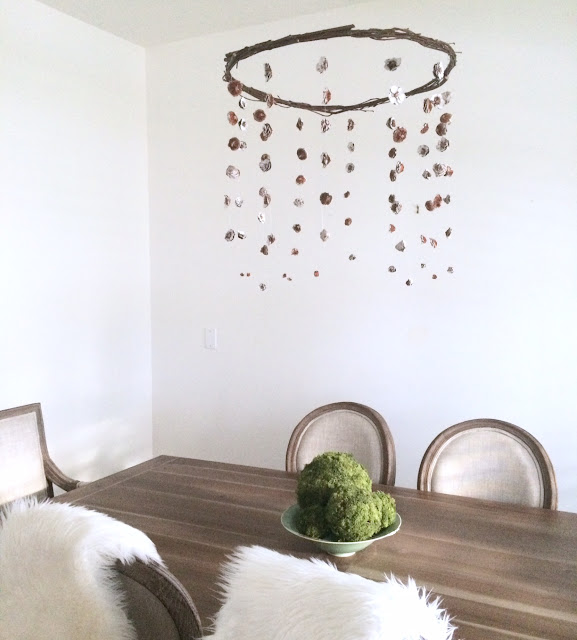 DIY Centerpiece Hanging Pinecone Harlow and Thistle 14