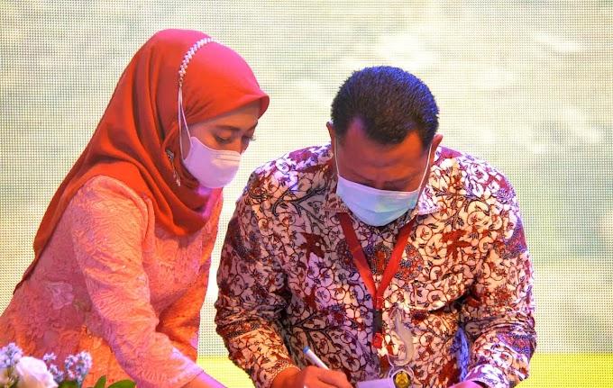 Kampar Terima Hibah Pengadaan Sumur Bor Air Bersih dari Badan Geologi Kementerian ESDM