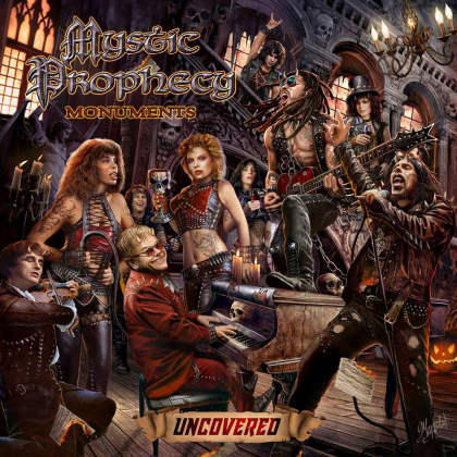 """Mystic Prophecy - """"Shadow on the Wall"""" (video) from the album """"Monuments Uncovered"""""""