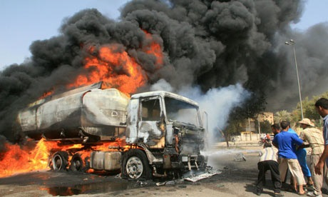 Tragedy averted as tanker with PMS crashes on Lagos-Ibadan expressway