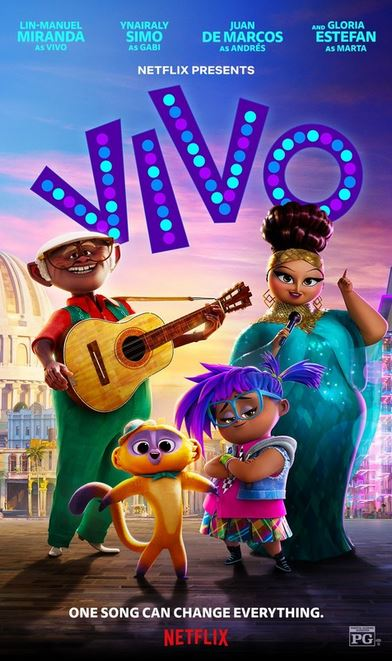 Vivo, Adventure, Animation, Comedy, Musical, Family, Movie Review by Rawlins, Rawlins GLAM, Rawlins Lifestyle