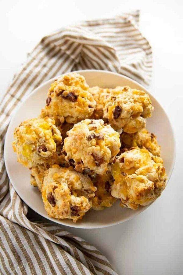 Loaded Breakfast Biscuits