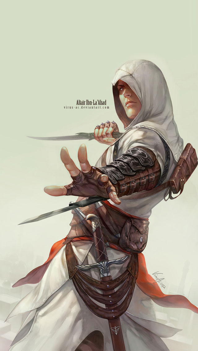 Iphone 5 Wallpaper Assassins Creed Altaïr Ibn Laahad