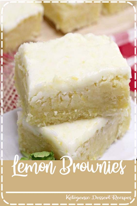 Lemon Brownies are my new favorite dessert. Topped with a delicious lemon glaze, they are just the right mix of fresh lemon and sweetness. #lemonbrownies #brownies #lemon #yummy #baking #food #recipes