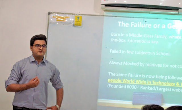 Syed Faizan Ali telling about his failures in child hood