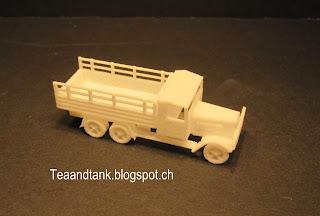 Henschel D33 truck