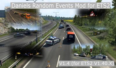 Daniels Random Events - ETS2 1.40